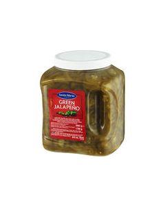 Grön jalapeño chili från Santa Maria, bild på förpackningen