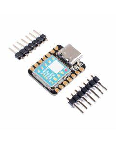 Bild, snett ovanifrån, på Seeeduino XIAO Microcontroller SAMD21 Cortex M0+, Arduino IDE-kompatibel