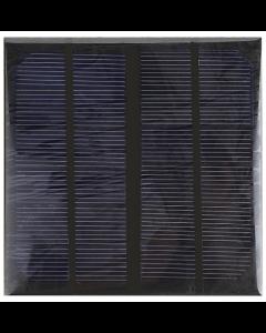 Solcell DIY 6 V 3 W epoxy (145x145x3 mm)
